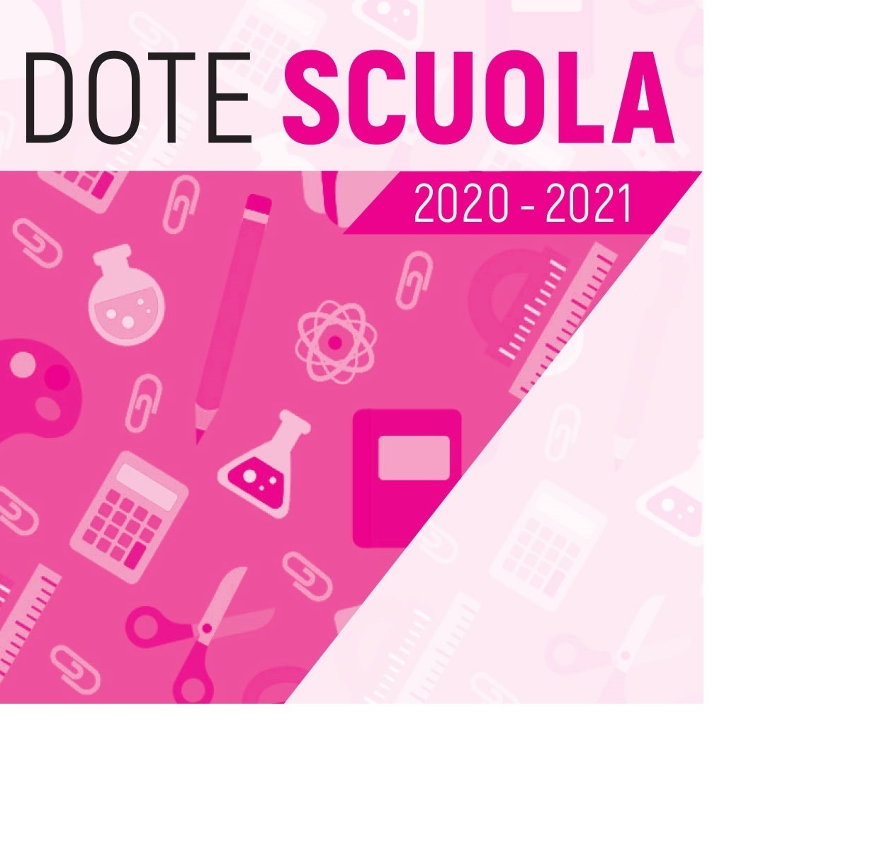 DOTE SCUOLA A.S. 2020-2021- BORSE DI STUDIO STATALI