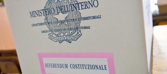 Convocazione dei comizi- Referendum costituzionale 29/03/20