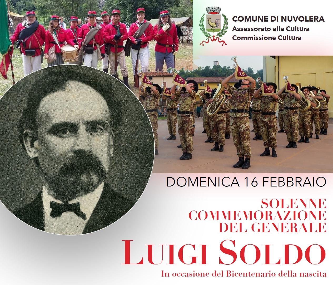 Solenne Commemorazione del Generale Luigi Soldo - 16 febbraio 2020